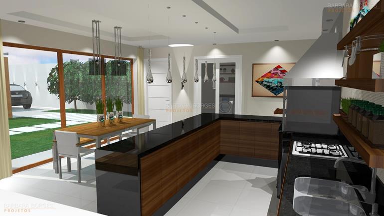 escritorio de design de interiores Projetos Casa Campo