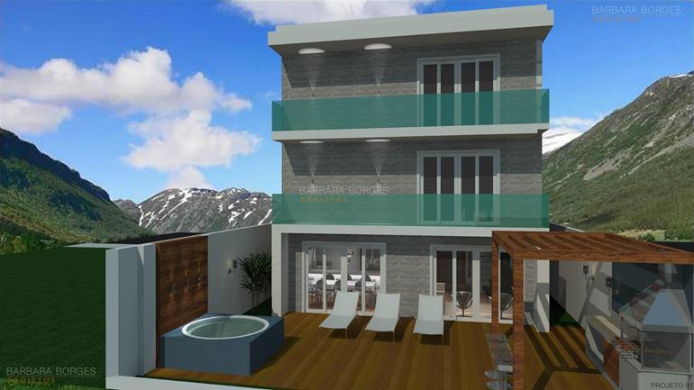 Projetos Casas Terreas