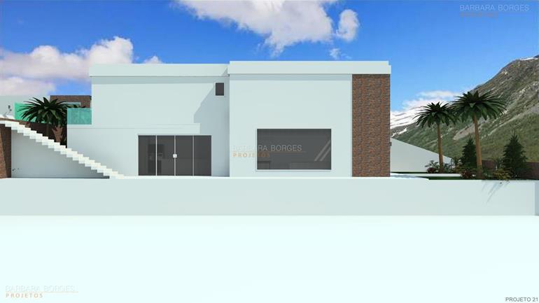 idéias de decoração Projetos casas modernas