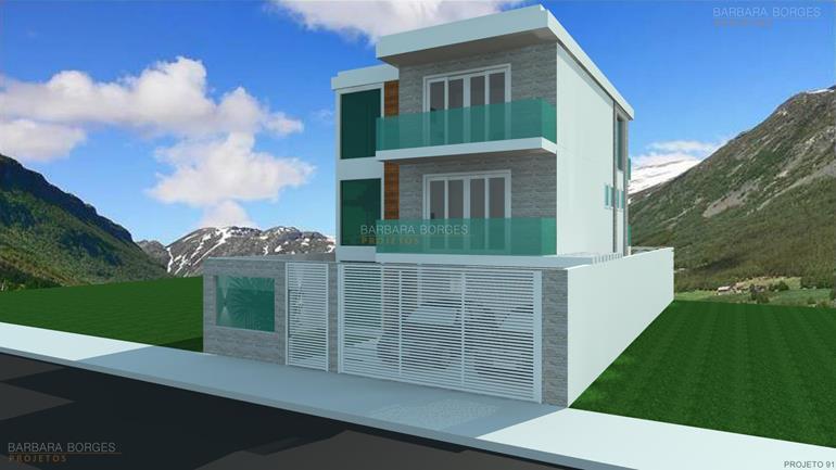 Projetos casas pequenas