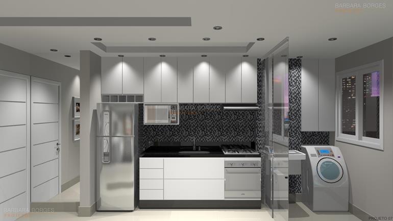 imagens de cozinhas decoradas Projetos cozinha cadeiras