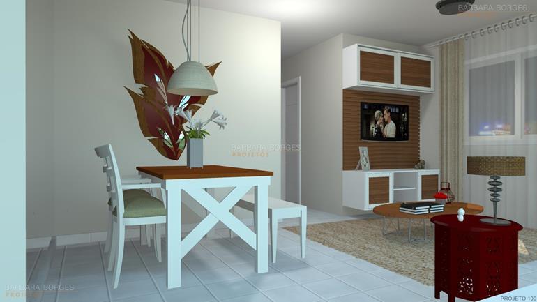 modelo de quarto pequeno Projetos móveis Todeschini