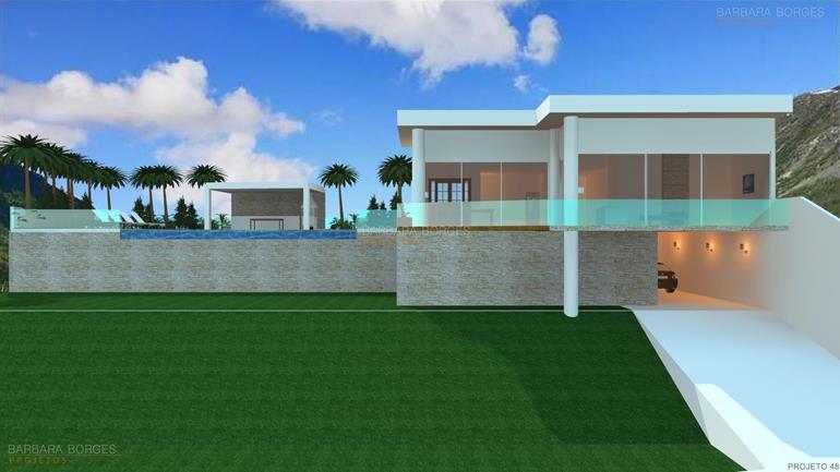 curso de design de moveis Sobrado moderno 3 quartos varanda