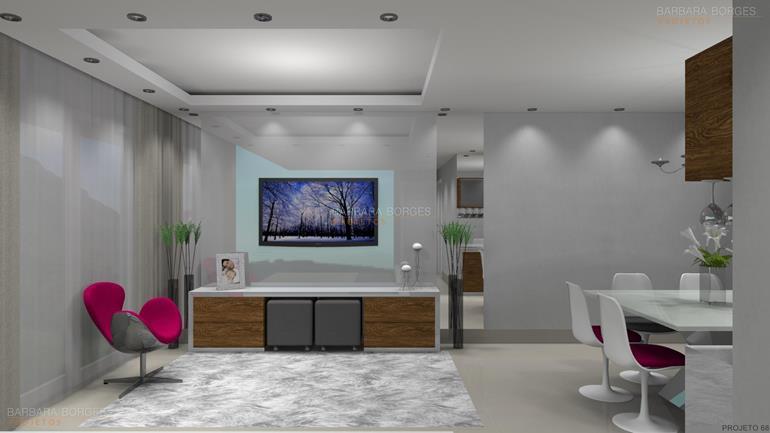 móveis para sala ambientes decorados