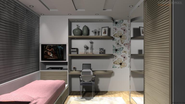 papel de parede quarto menina amplo sobrado 4 quartos