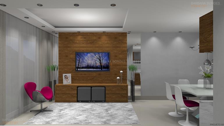 moveis planejados quarto casal apartamento decorado
