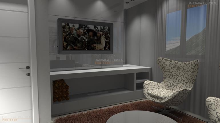 pintura de quarto de casal apartamento decorado