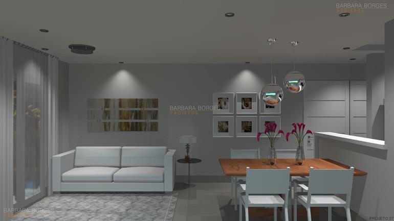 Apartamentos pequenos barbara borges projetos for Pintura para apartamentos modernos