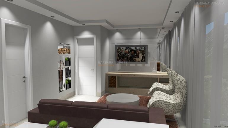 projetos 3d apartamentos pequenos