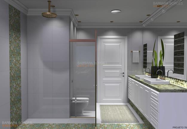 pintura de quarto de casal armario banheiro espelho