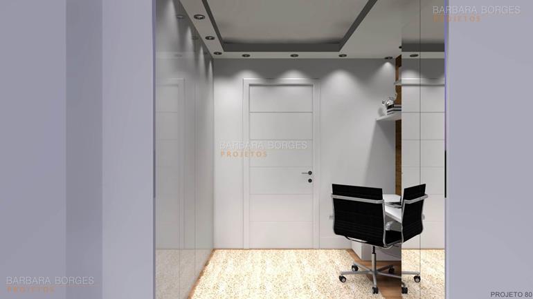 quartos decorados de bebe armário escritório