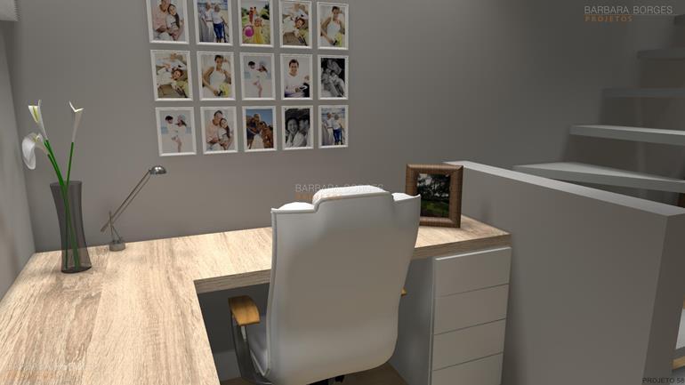 quiosque com churrasqueira armário escritório