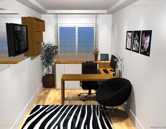 sala e cozinha armário escritório
