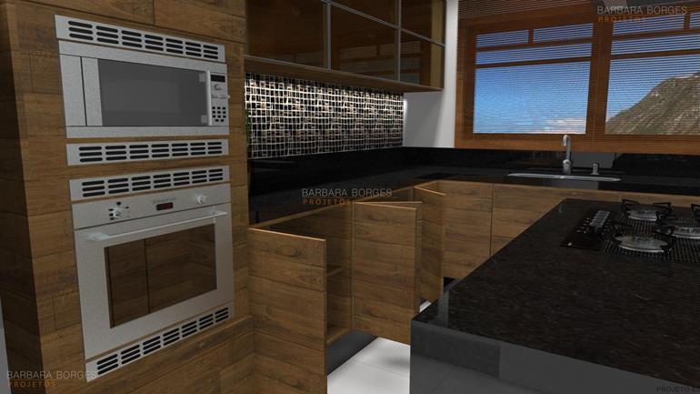 projeto de loja armario parede cozinha