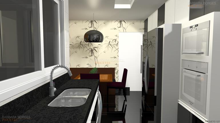 sala e cozinha armario planejado