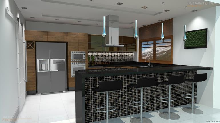 projeto loft armario planejado cozinha