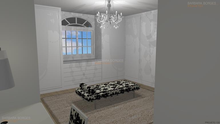 projetos ediculas armario quarto