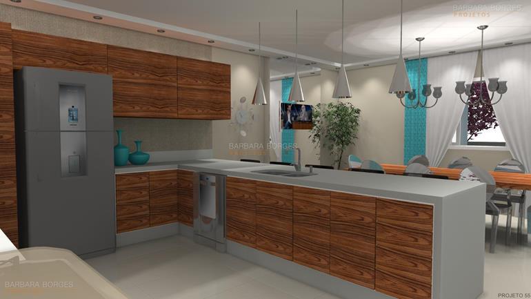 sala de estar decoração armarios cozinha
