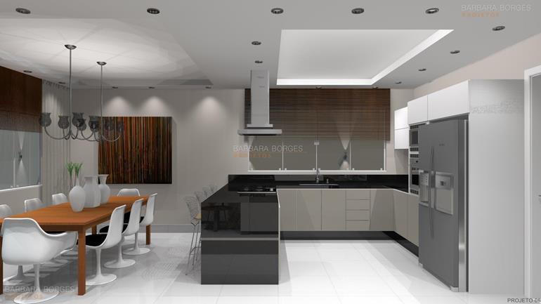 projeto de loft armarios cozinha planejados