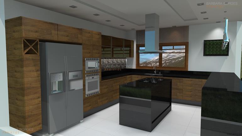 Projetos Arquitetonicos de Casas armarios cozinha planejados