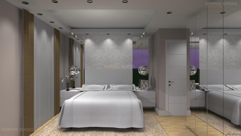 Decoração Apartamentos armarios quarto