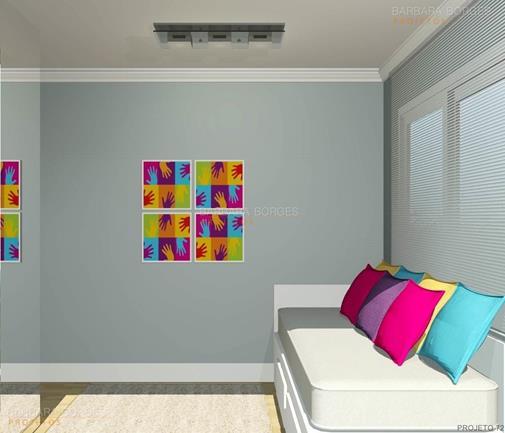 projeto de loft armarios quarto