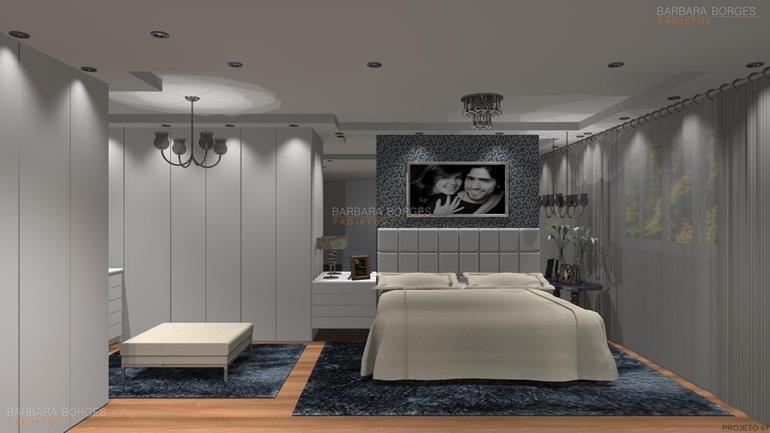 Projetos Arquitetonicos de Casas armarios quarto