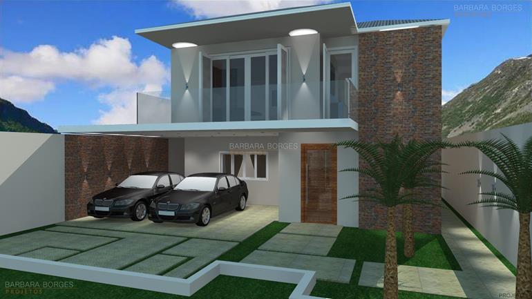 projeto de loft arquitetura moderna