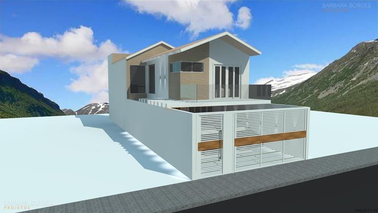 Projetos Arquitetonicos de Casas arquitetura moderna