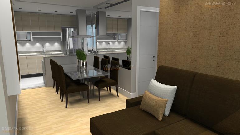 armario de cozinha modulado balcão sala jantar
