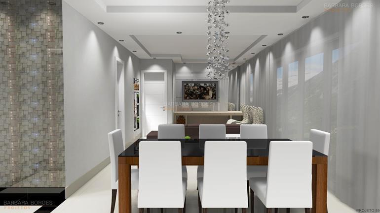 armários de quarto balcão sala jantar