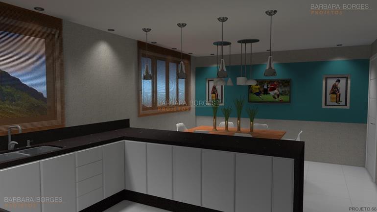 armários de cozinha planejados bancos cozinha