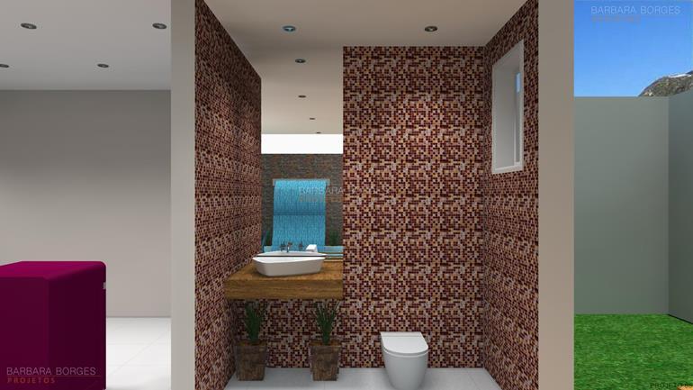 areas de lazer com churrasqueira banheiro decoração
