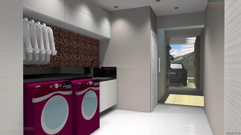 armario de area de serviço banheiro decorado