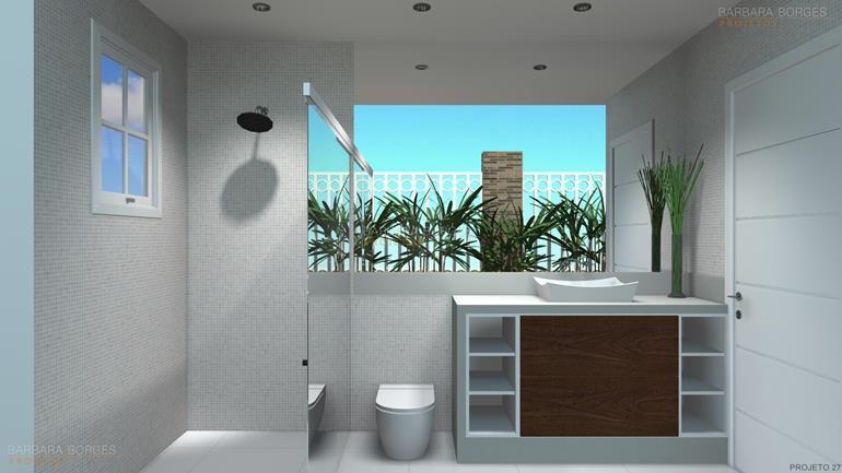 armários de quarto banheiro moderno