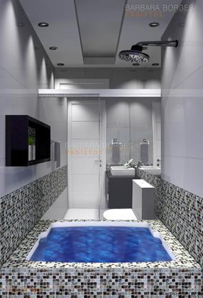 armários para quarto banheiro pastilhas vidro