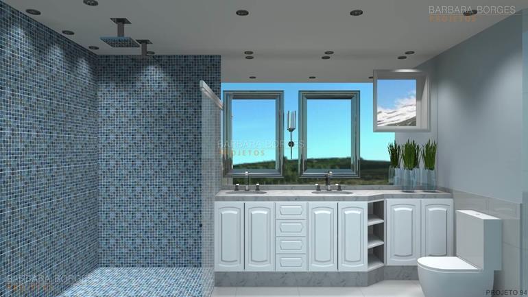 banheiro pastilhas vidro