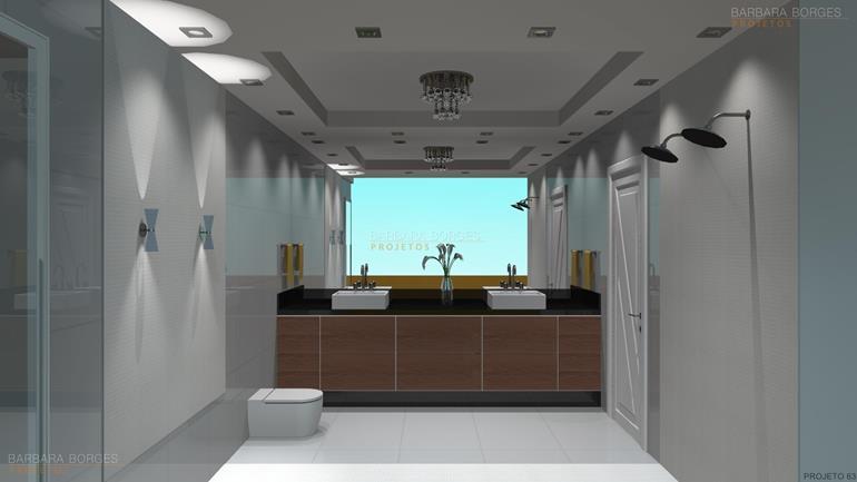 armários de quarto banheiro simples
