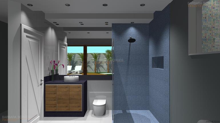 banheiro pequenos banheiros decorados