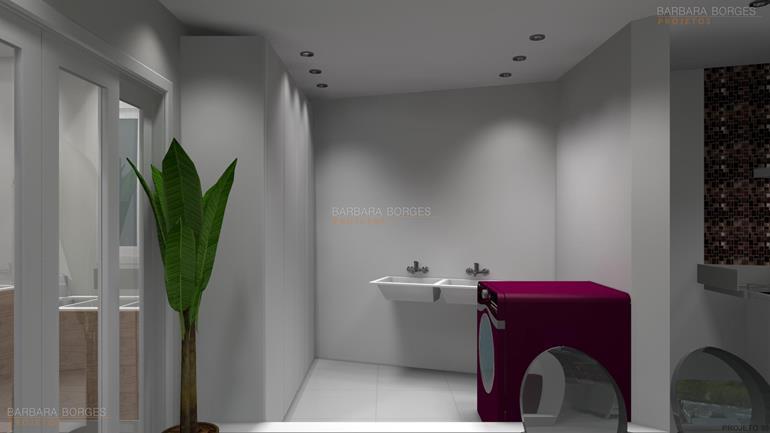 banheiros decorados pastilhas