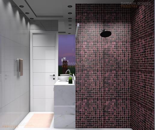 cozinhas com pastilhas de vidro banheiros pequenos