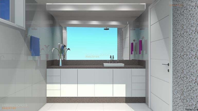blogs de decoração de casas banheiros pequenos bonitos