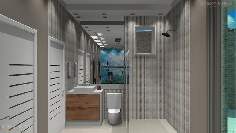 Banheiros Pequenos Bonitos  Barbara Borges Projetos -> Banheiros Modernos Bonitos