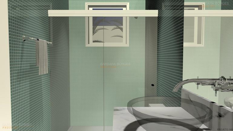 Banheiros Pequenos Bonitos  Barbara Borges Projetos -> Banheiro Pequeno Projeto