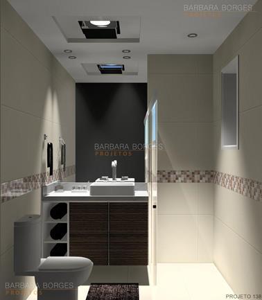 cozinha em aço banheiros pequenos decorados