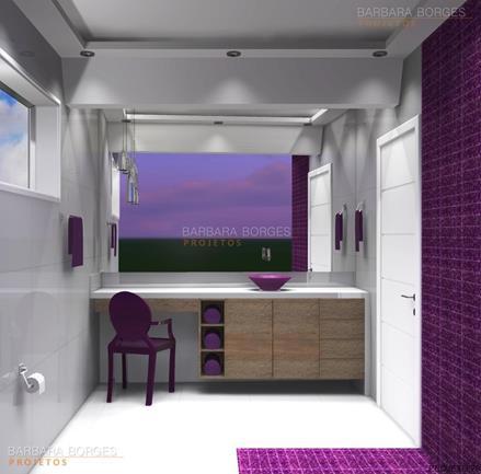 cadeiras em acrilico banheiros planejados