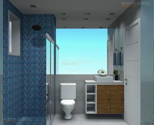 cortina quarto de bebe banheiros planejados