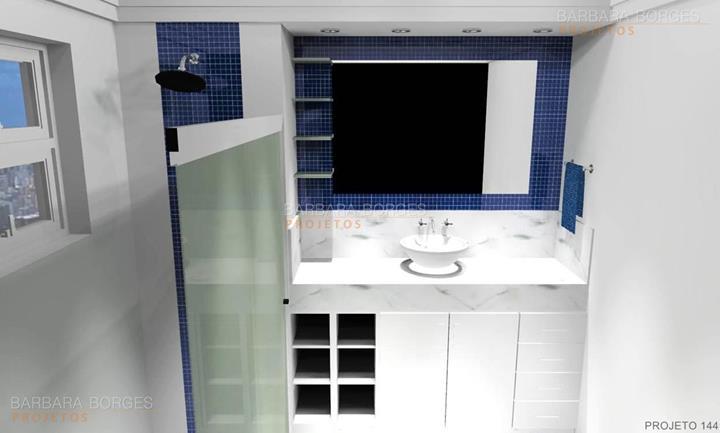cozinhas com pastilhas de vidro banheiros planejados pequenos