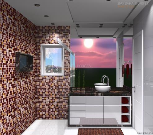 decoração de apartamento pequenos banheiros reformados