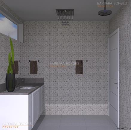 conjunto de sala de jantar banheiros simples